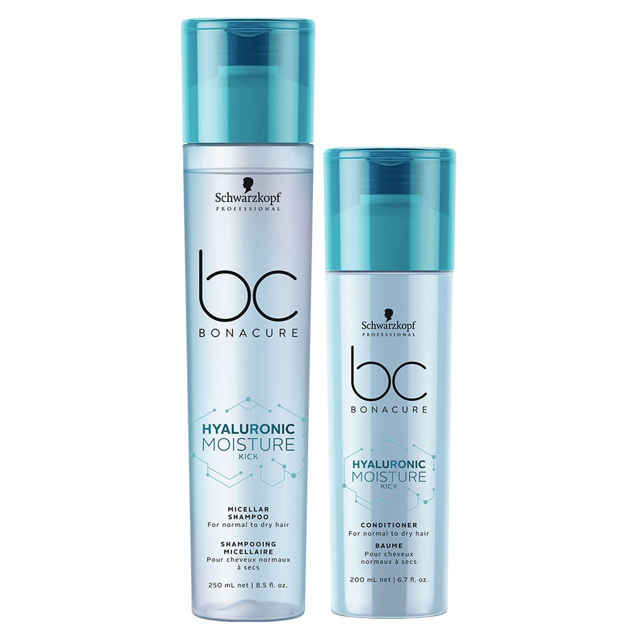 kit Moisture Kick Shampoo Micellar 250 ml + Condicionador Spray 200 ml