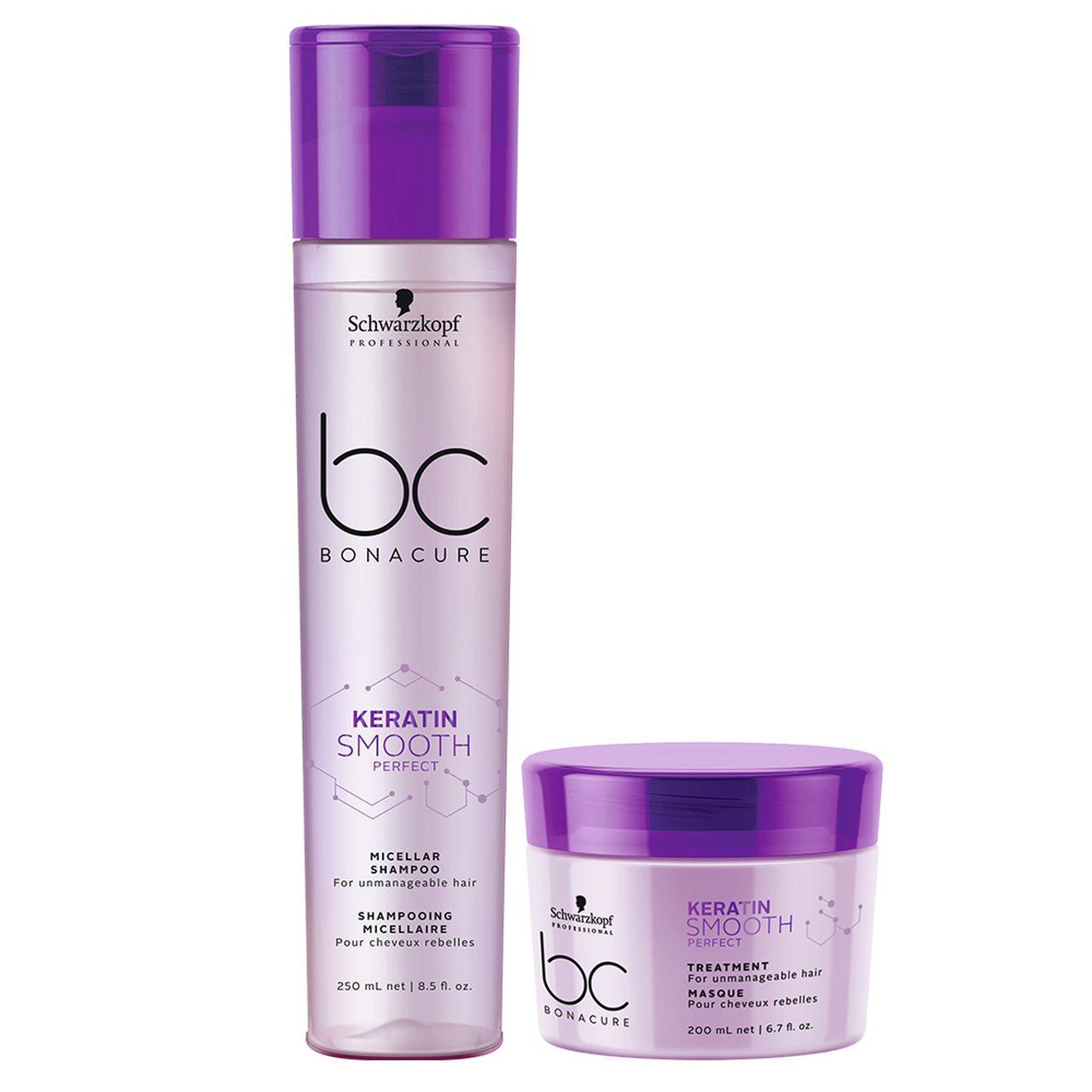 kit Smooth Perfect - Shampoo Micellar + Máscara 200 ml