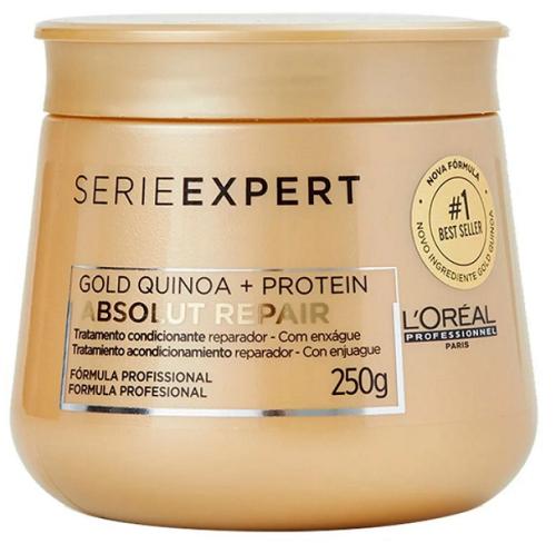 L'Oréal Máscara Absolut Repair Gold Quinoa + Protein 300ml