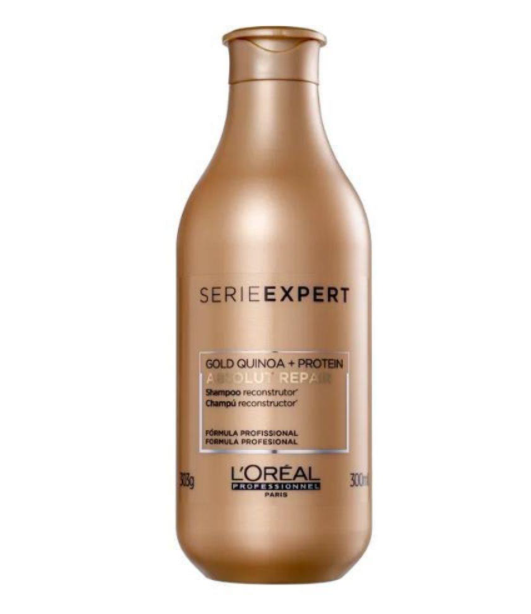L'Oréal Shampoo Absolut Repair Gold Quinoa 300ml
