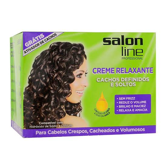 Salon Line Creme Relaxante 200 gr