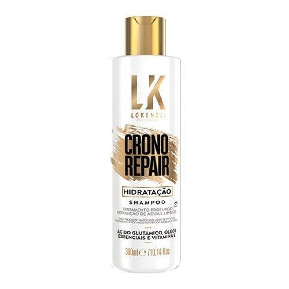 Lokenzzi Shampoo Crono Repair Hidratação 300ml