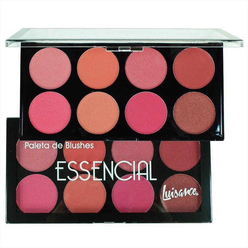 Luisance Paleta De Blush 8 Cores Essencial