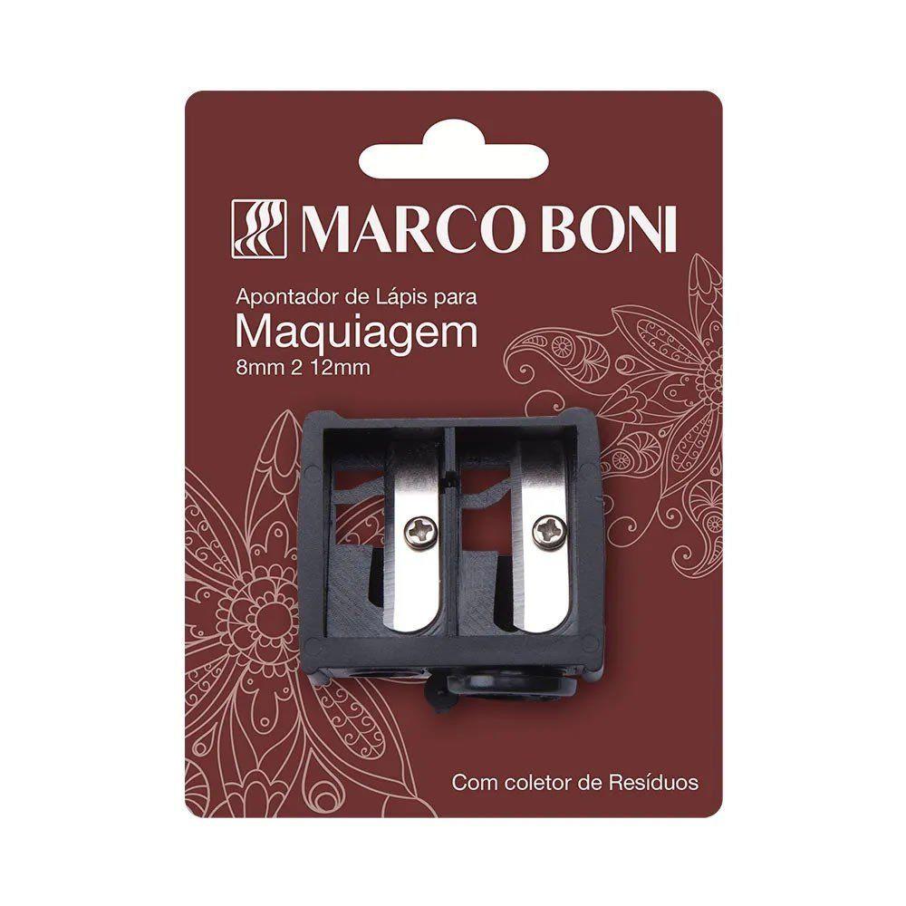 Marco Boni Apontador Para Lápis De Maquiagem