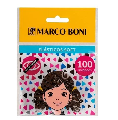 Marco Boni Elástico Soft Marrom 100un