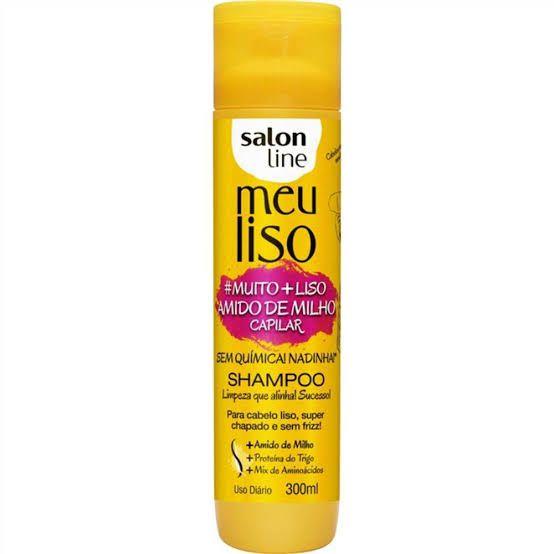 Salon Line Shampoo Meu Liso Muito Mais Liso 300 ml