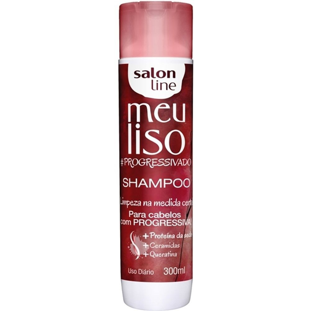 Salon Line Shampoo Meu Liso Progressivado 300 ml