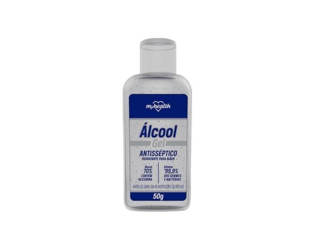 My Health Álcool em Gel 70% Antisséptico 50g