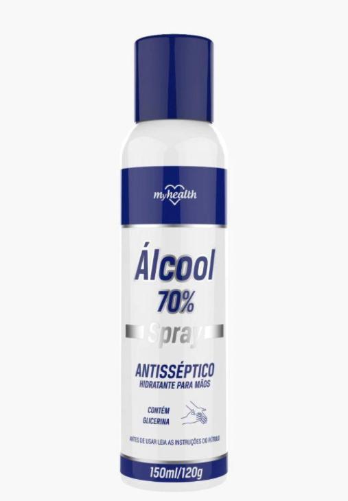 My Health Álcool Spray Antisséptico 70% 150ml