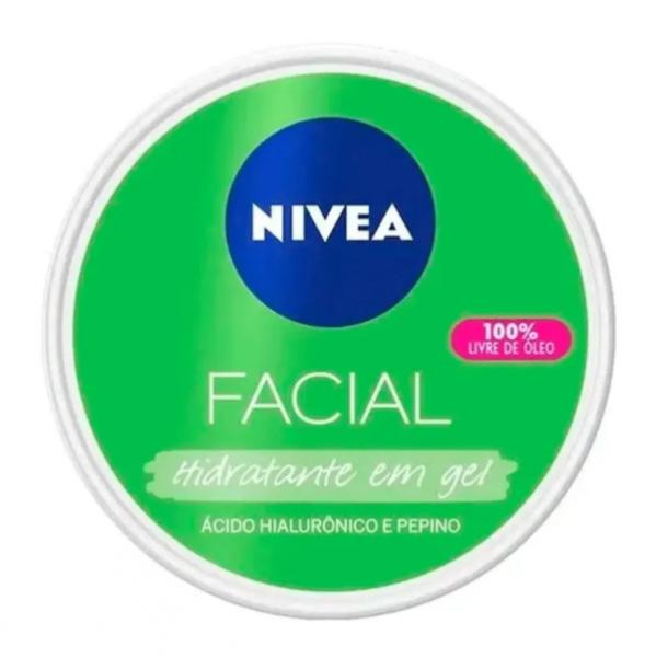Nivea Hidratante Facial e Gel com Hialurônico e Pepino