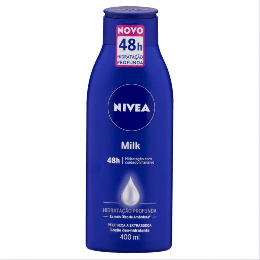 Nivea Loção Corporal Hidratante Milk Pele Extra Seca 400ml