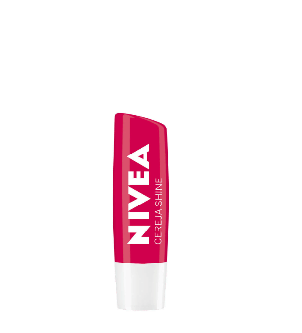 Nivea Protetor Labial Lip Care Cereja Shine 4,8g