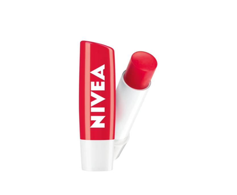 Nivea Protetor Labial Lip Care Morango 4,8g