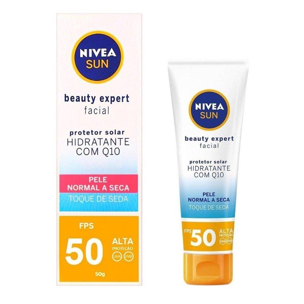 Nivea Protetor Solar Facial Sun Pele Seca FPS50 50g