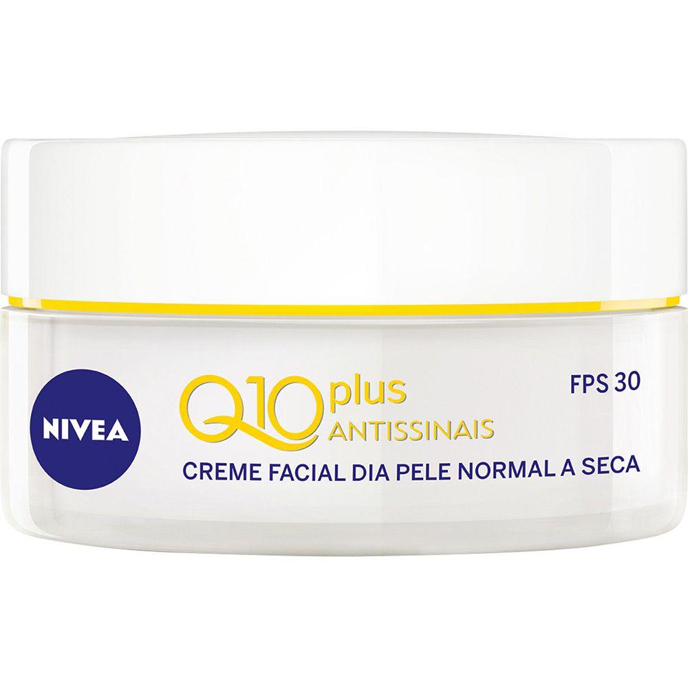 Nivea Creme Facial Dia Q10 Plus Antissinais 52g