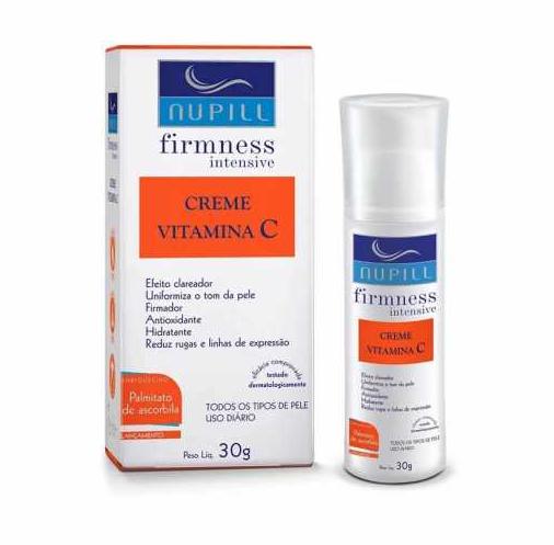 Nupill Creme Antirrugas Vitamina C 30g