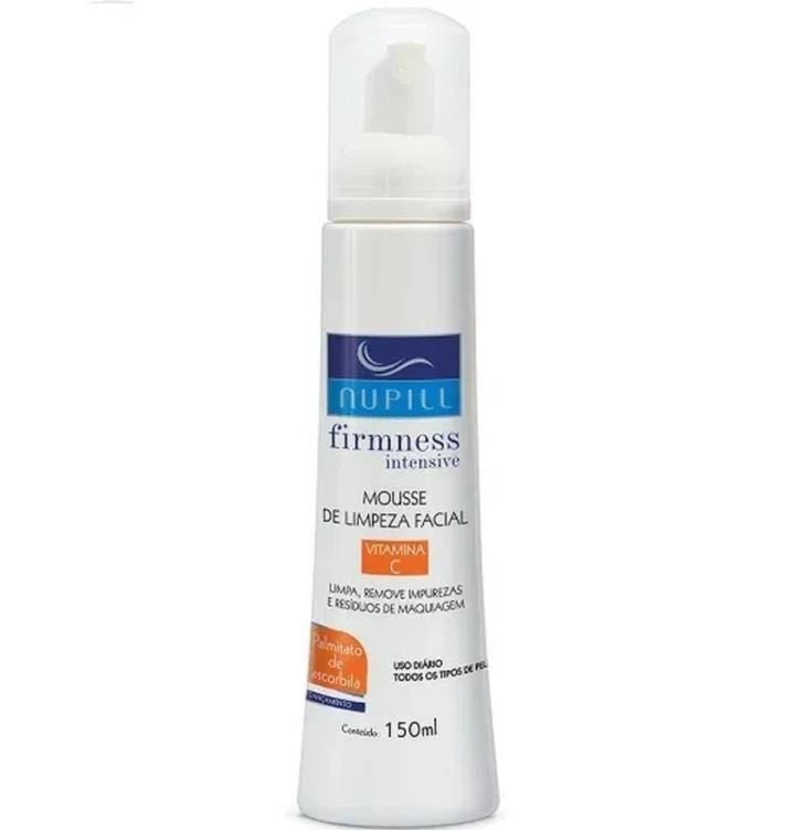 Nupill Mousse de Limpeza Facial Vitamina C 150ml
