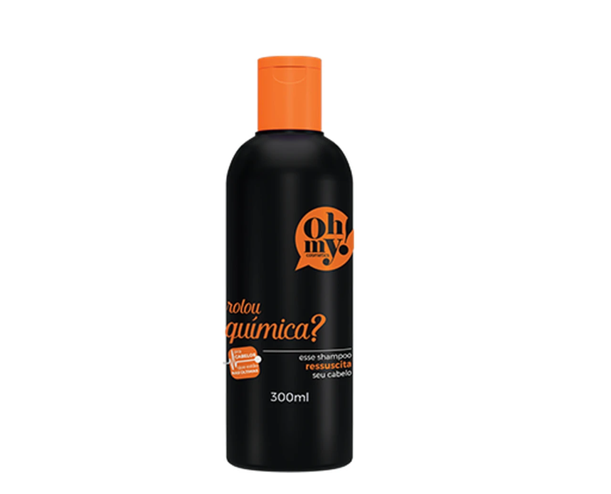 Oh My! Shampoo Rolou Química 300ml