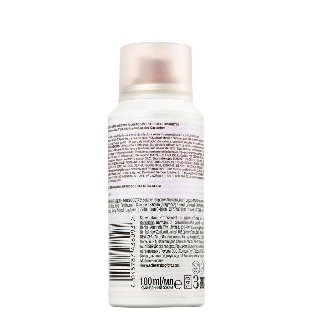OSIS+ Boho Rebel Shampoo a Seco Castanho Claro 100 ml