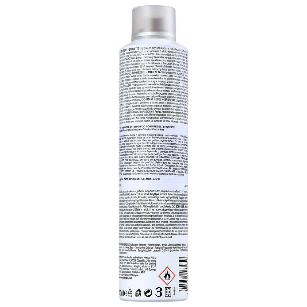 OSIS+ Boho Rebel Shampoo a Seco Castanho Claro 300 ml