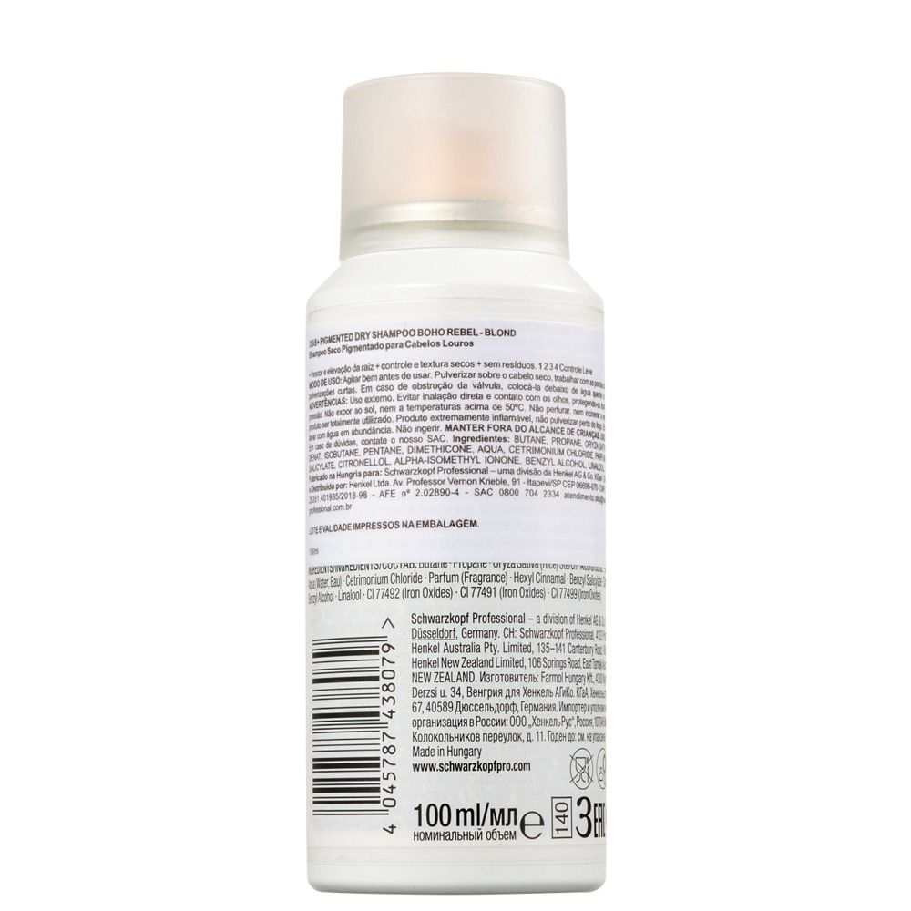OSIS+ Boho Rebel Shampoo a Seco Louro 100 ml