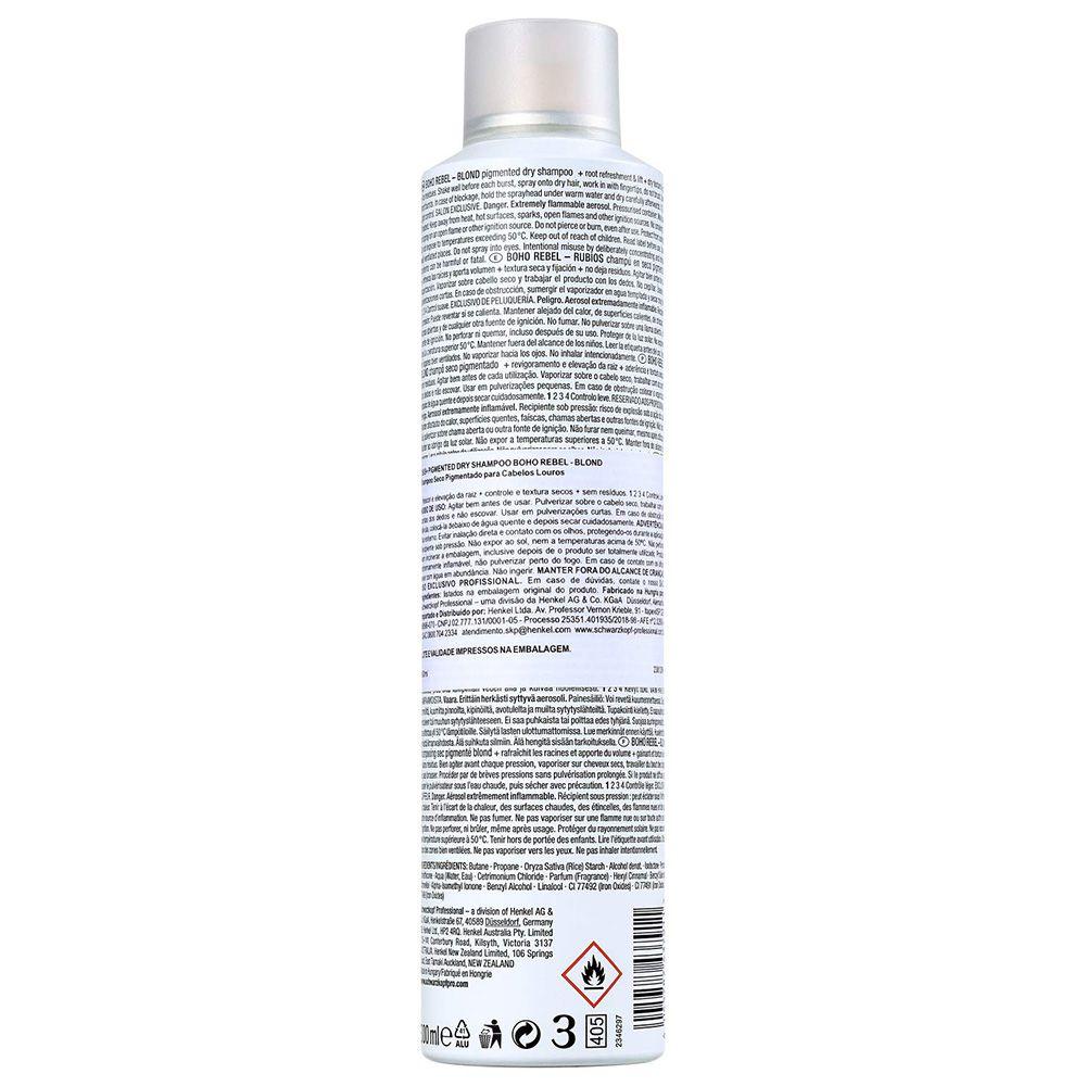 OSIS+ Boho Rebel Shampoo a Seco Louro 300 ml