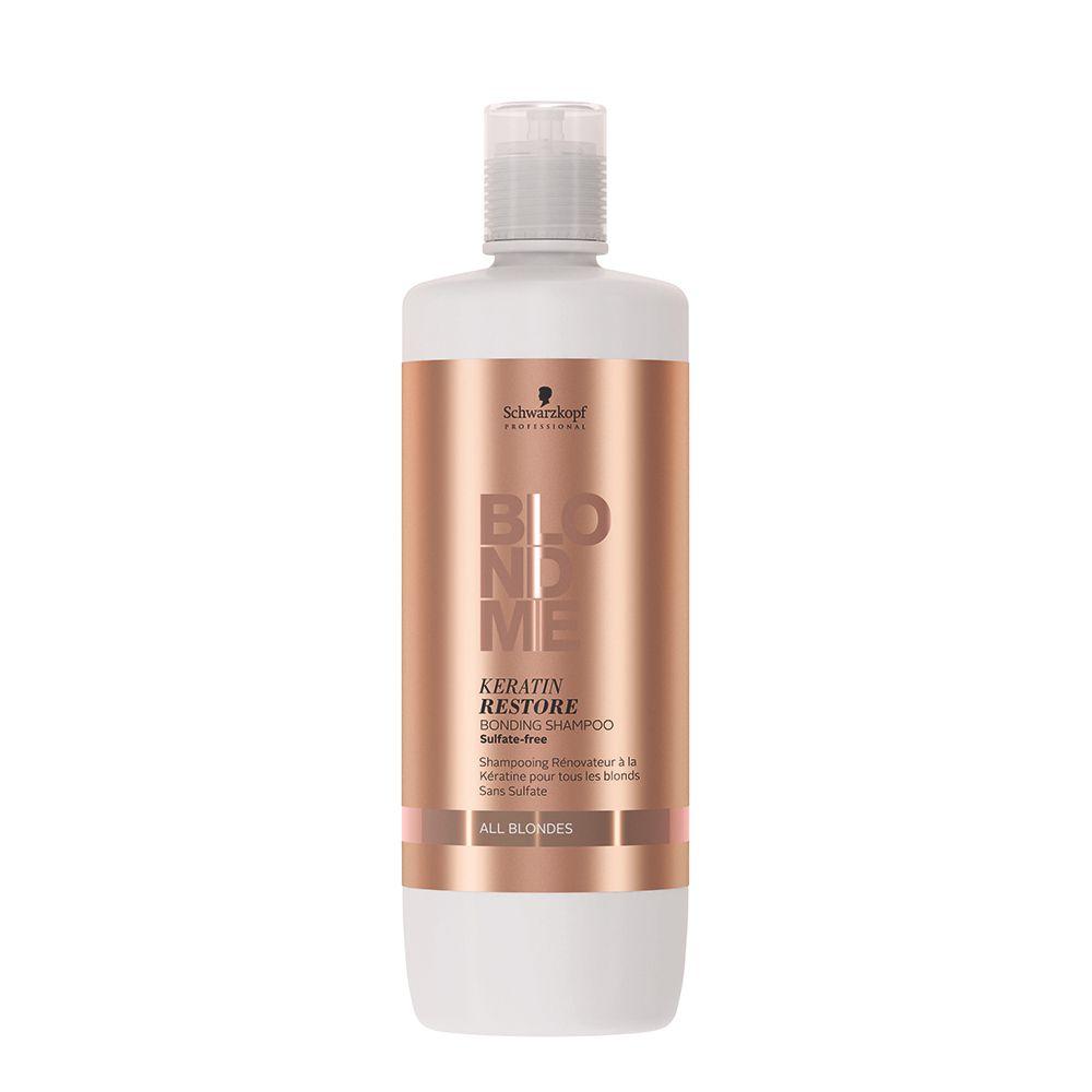 OUTLET - BlondMe All Blondes Shampoo Reparador e Reforçador de Pontes com Queratina 1000 ml
