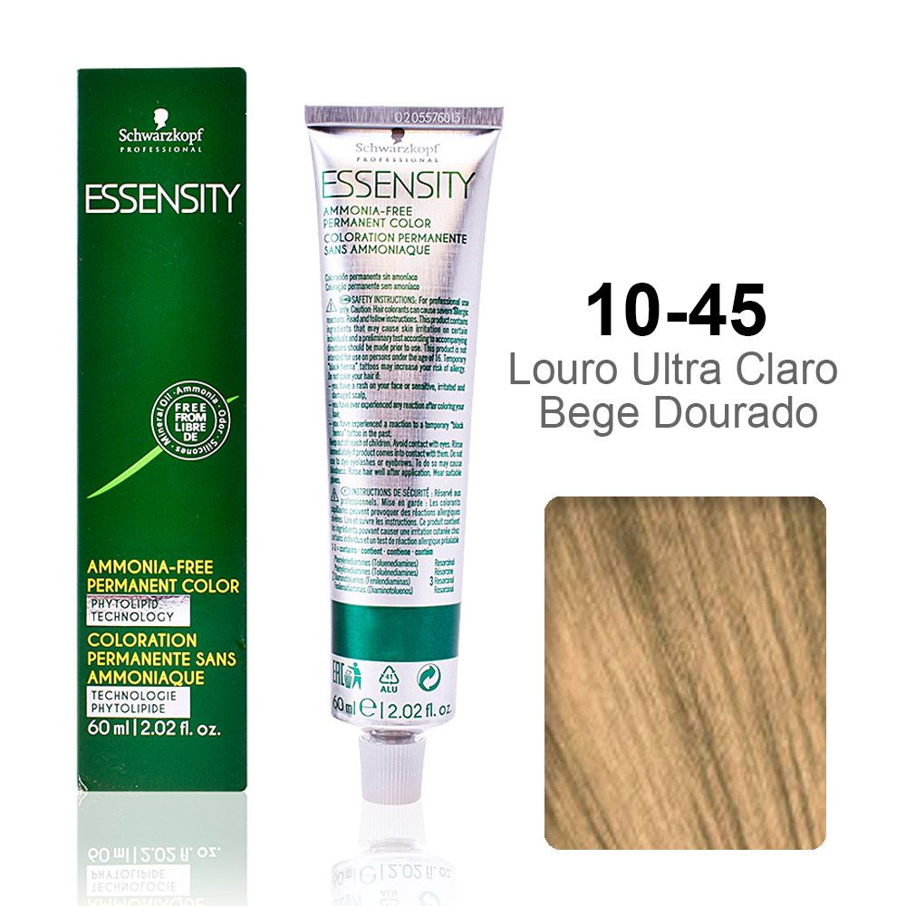 OUTLET - Essensity 10-45 Louro Ultra Claro Bege Dourado