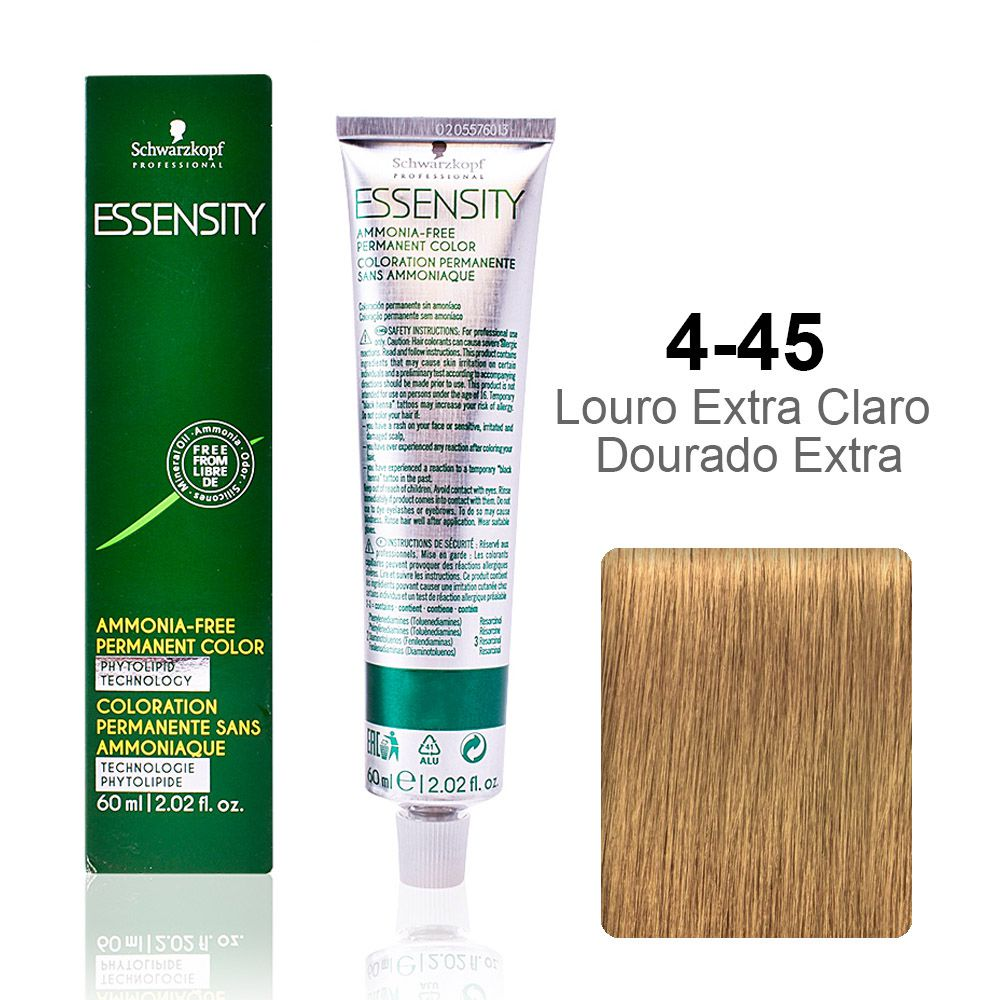 OUTLET - Essensity 4-45 Louro Extra Claro Dourado Extra