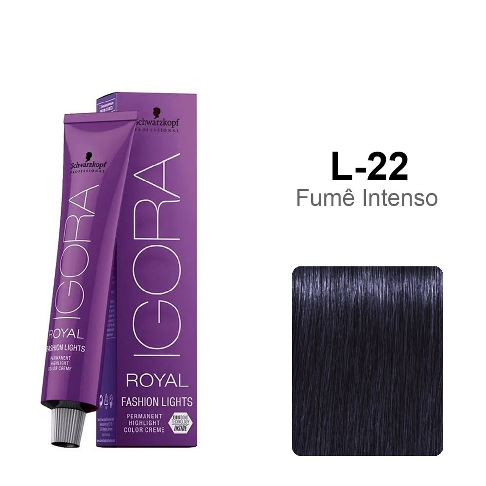 OUTLET - Igora Royal Fashion Lights L-22 - Fumê Intenso