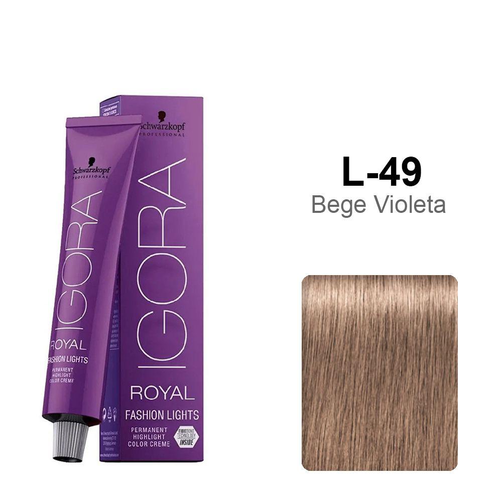 OUTLET - Igora Royal Fashion Lights L-49 Bege Violeta