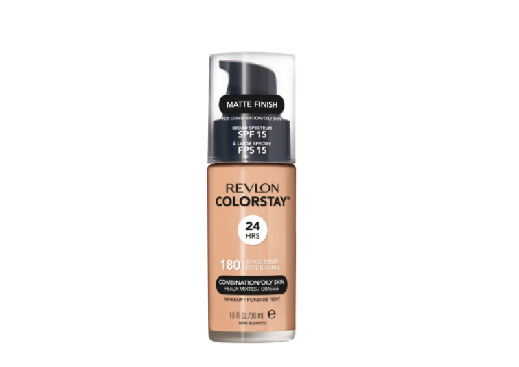 Revlon Base líquida ColorStay Pump Oil 180 Sand Beige