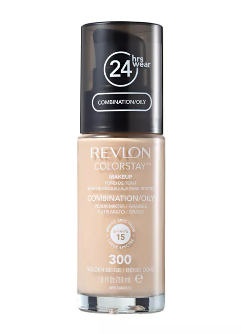 Revlon Base líquida Colorstay Pump Oil 300 Golden Beige