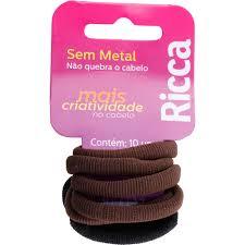 Ricca Elástico sem Meta Basics 15mm