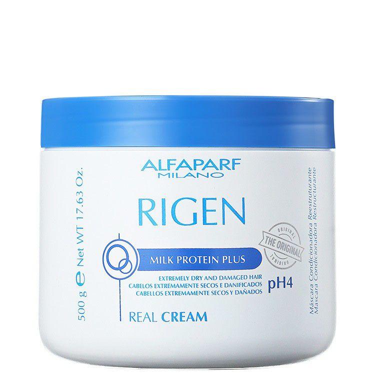 Alfaparf Máscara Condicionadora Reestruturante Rigen Real Cream ph4 500 g