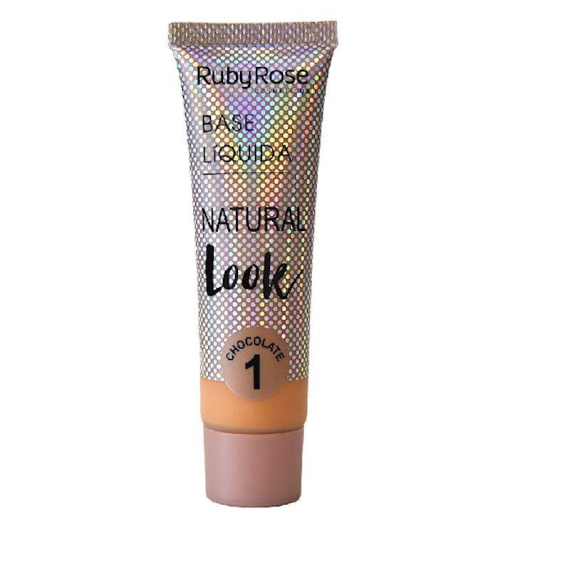 Ruby Rose Base Líquida Natural Look Nude L1