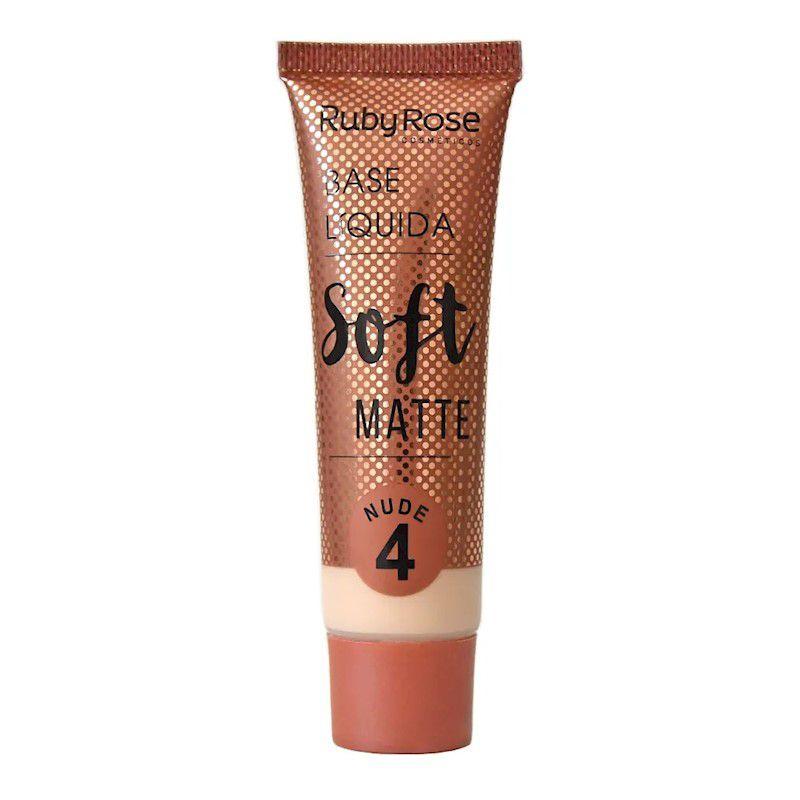 Ruby Rose Base Líquida Soft Matte Nude L4