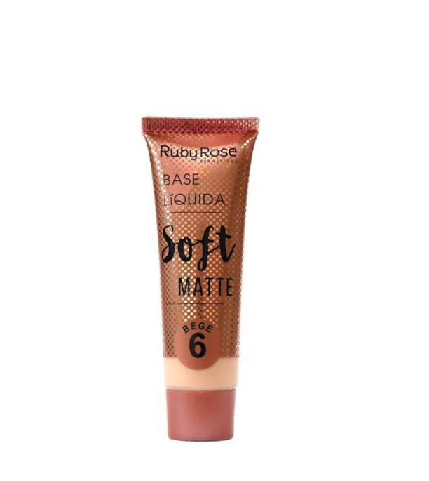Ruby Rose Base Líquida Soft Matte 6