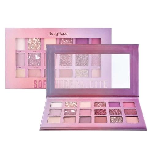 Ruby Rose Paleta de Sombra Soft Nude