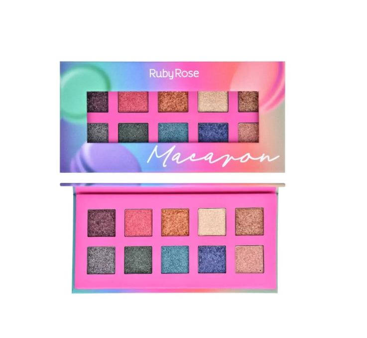 Ruby Rose Paleta de Sombras Macaron