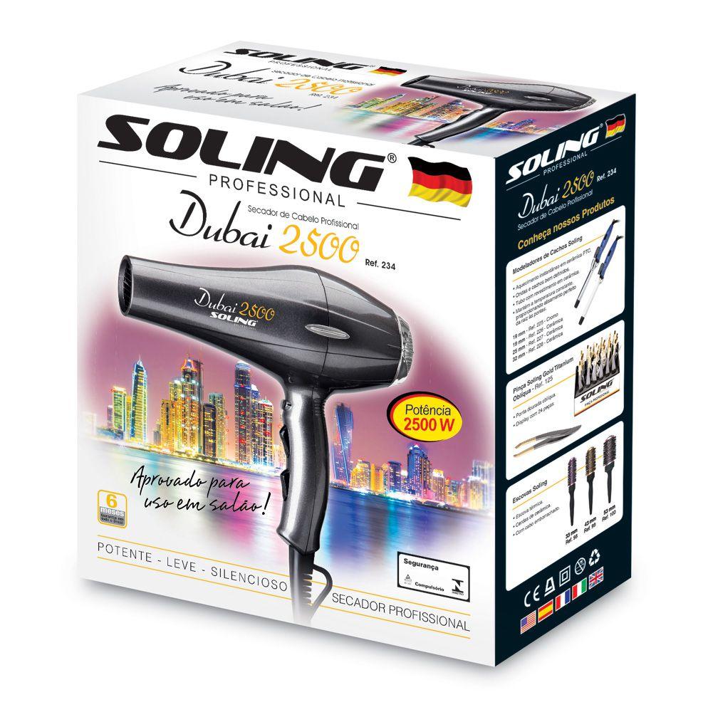Soling Secador Dubai 2500W 220V Ref 234