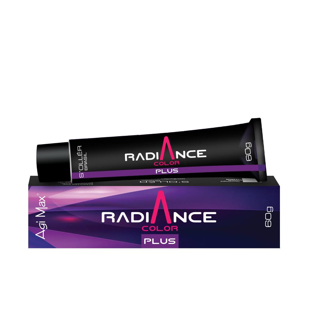 Soller Coloração Radiance Plus 7.72 Louro Médio Marrom Mate