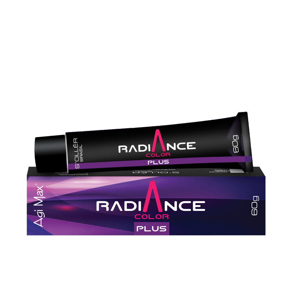 Soller Coloração Radiance Plus 8.72 Louro Claro Marrom Mate