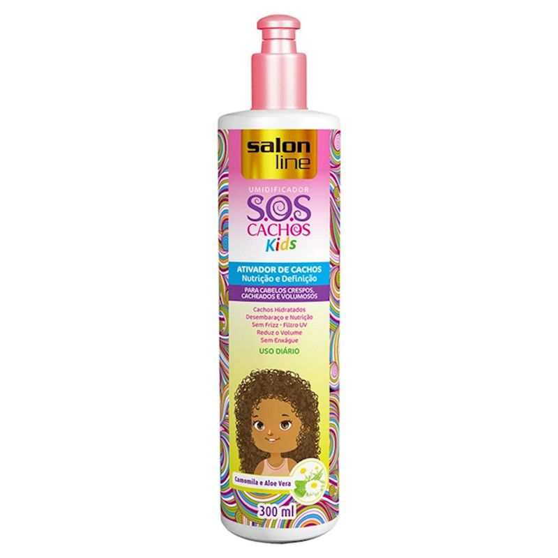 Salon Line Ativador SOS Cachos Kids 300 ml