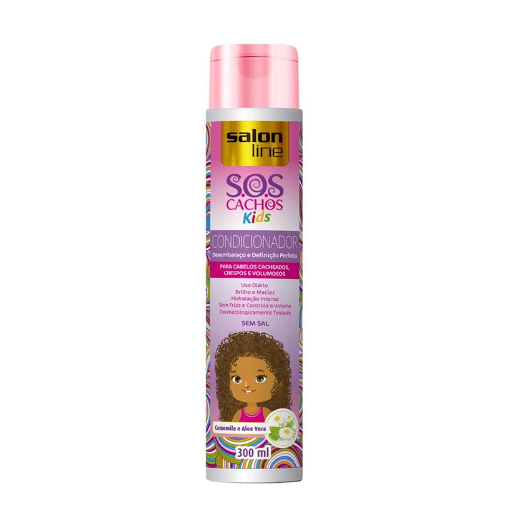 Salon Line Shampoo SOS Cachos Kids 300 ml