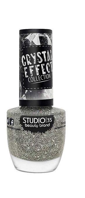 Studio 35 Esmalte Crystal Effect  #ChuvadePrata
