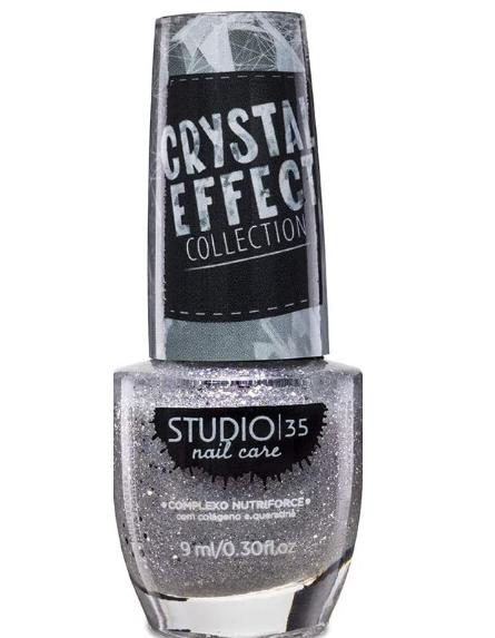 Studio 35 Esmalte Crystal Effect  #LuaDeCristal