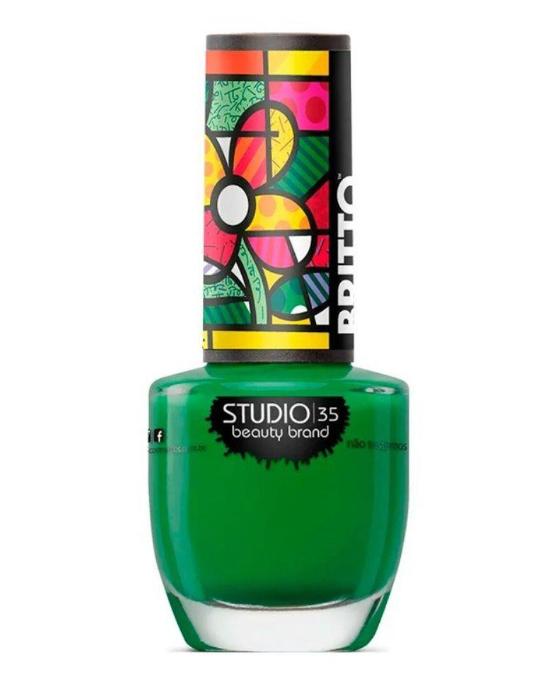 Studio 35 Esmalte Romero Britto Trevo de 4 cores