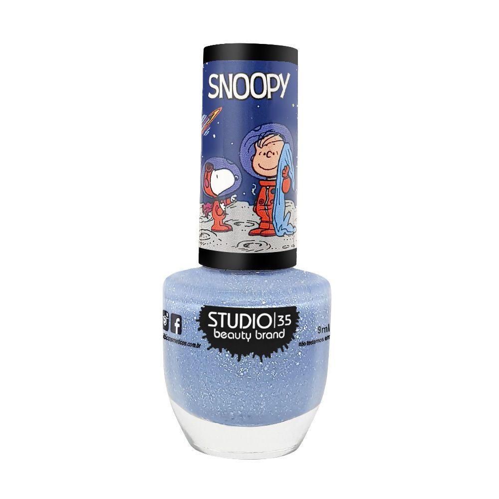 Studio 35 Esmalte Snoopy Mundo da Lua