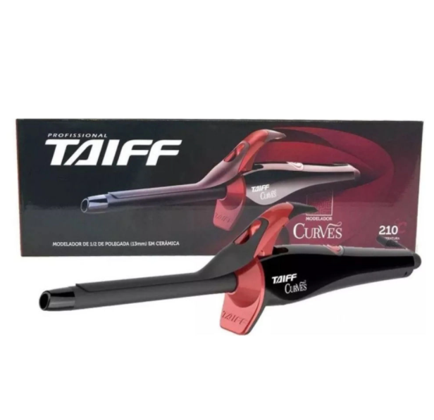 """Taiff Modelador Curves 1/2"""" Bivolt"""